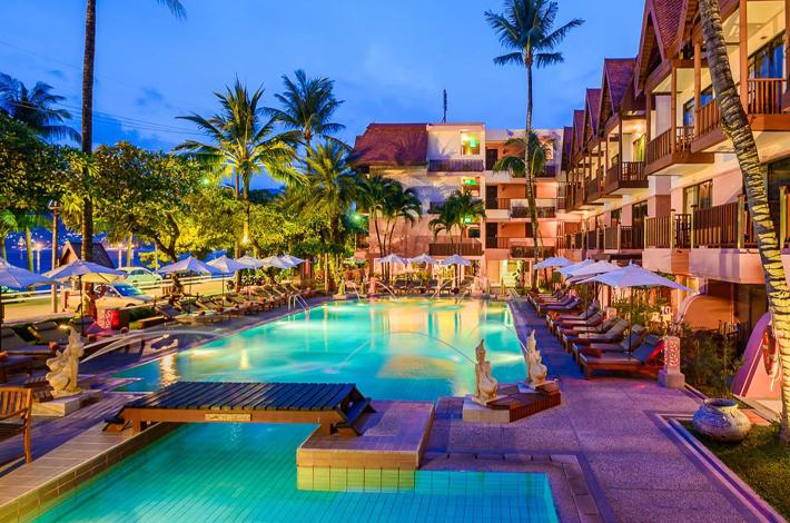 普吉岛芭东海滩的酒店