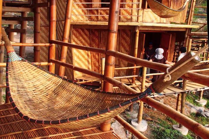 帕里小屋度假村(Paree Hut Resort)房间吊床