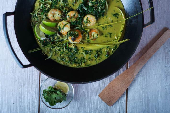 泰国中部菜-泰式绿咖喱