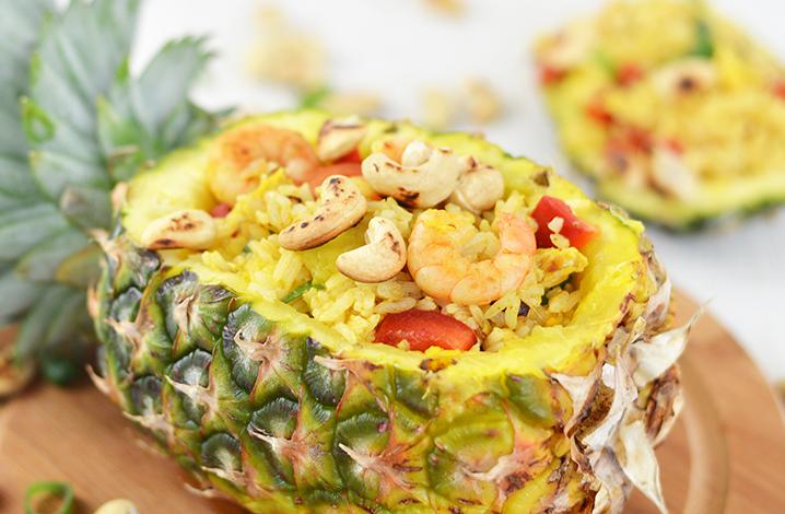 鲜虾菠萝饭