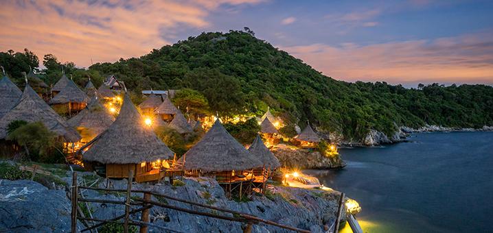 西昌岛帕里小屋度假村, 蜜月旅行必去的绝美秘境!