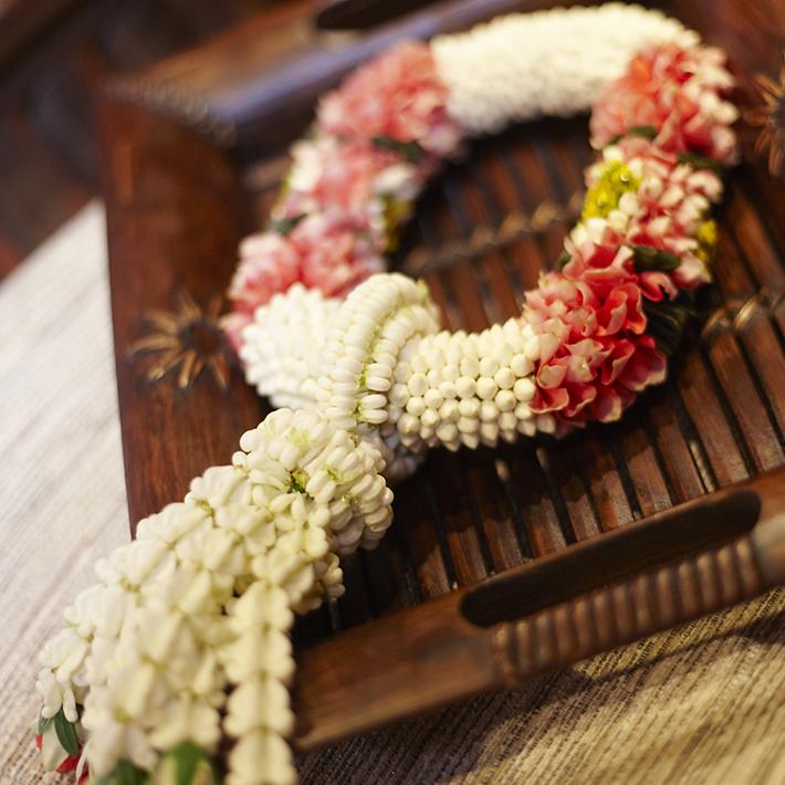泰国献花环的意义和花环的制作