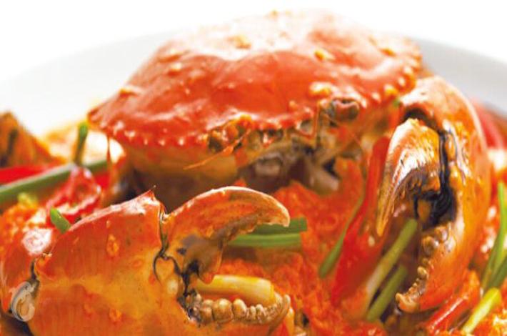 曼谷建兴酒家的美食