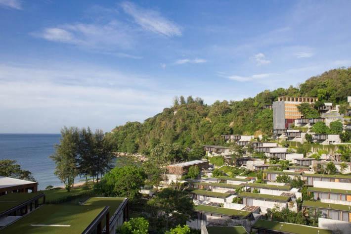 The Naka Phuket普吉岛纳卡酒店全景