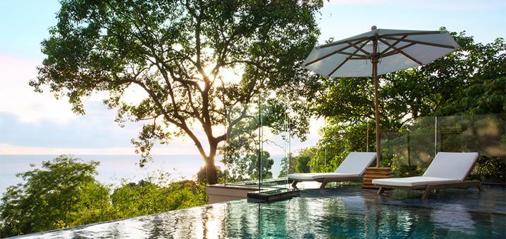 Trisara特里萨拉别墅酒店,独占海岸线的第三天堂的花园