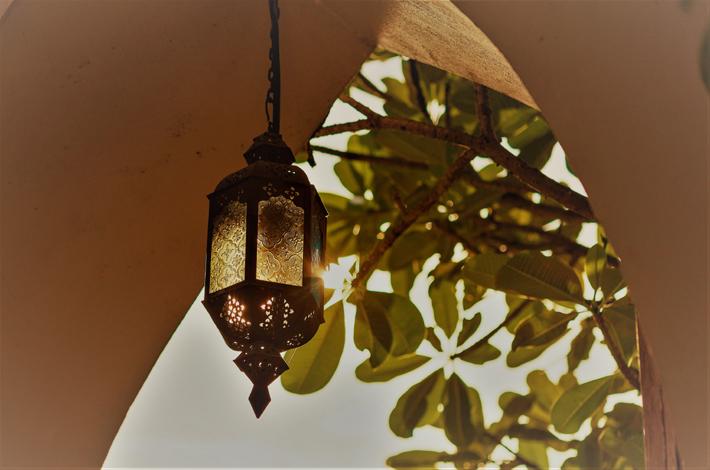 芭提雅斯里天堂酒店的灯塔