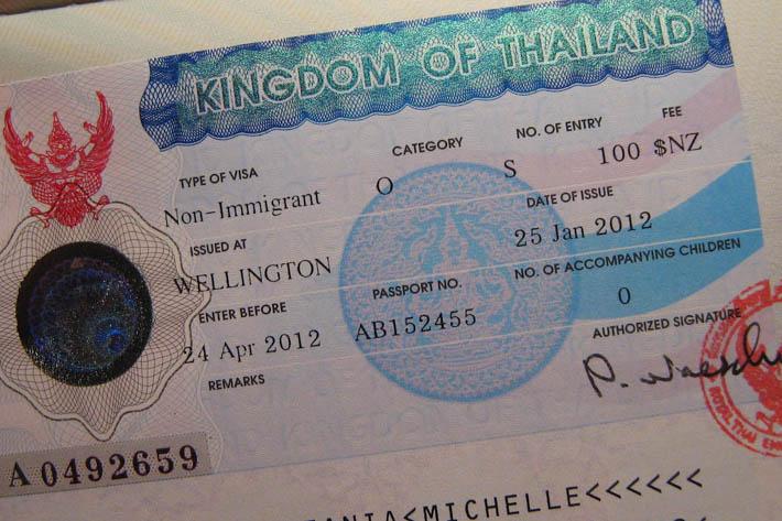 泰国长期签证