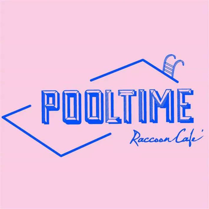 曼谷小浣熊咖啡厅Pool Time Raccoon Cafe