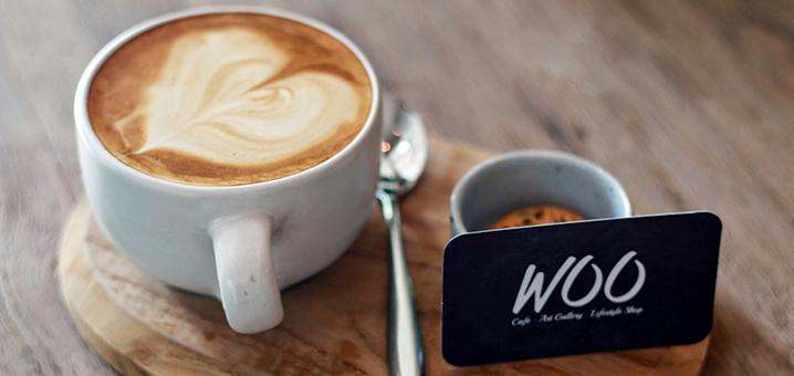 清迈Woo Cafe & Art Gallery & Lifestyle Shop,森林系小清新咖啡店