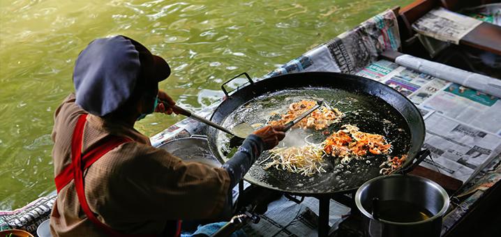 空叻玛荣水上市场游玩攻略