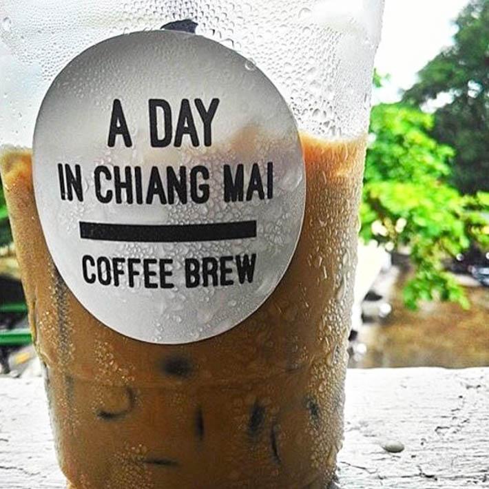 清迈A Day In Chiang Mai Coffee Brew,开在仓库里的咖啡店