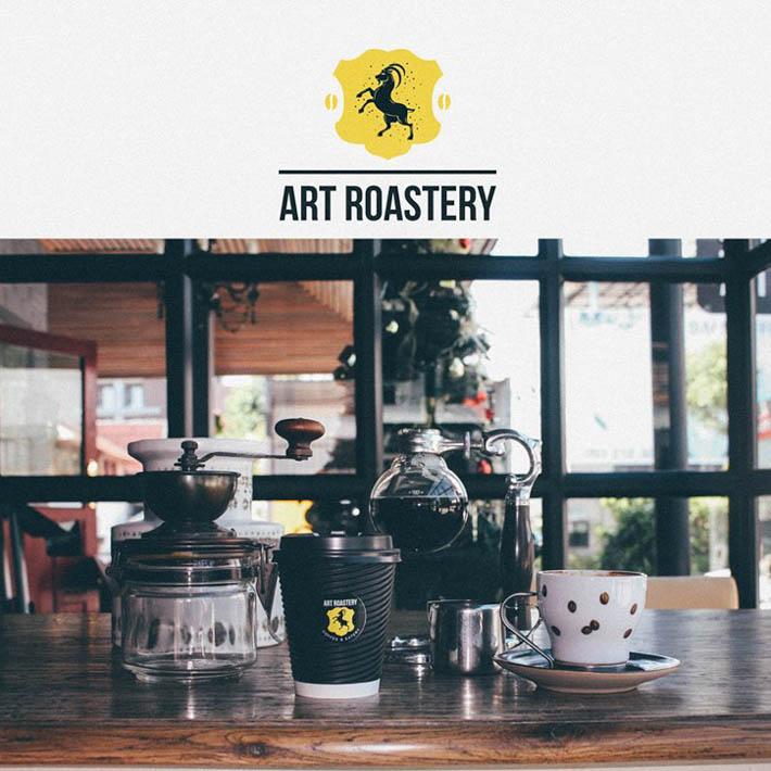 清迈大学附近的Art Roastery Coffee & Eatery咖啡店