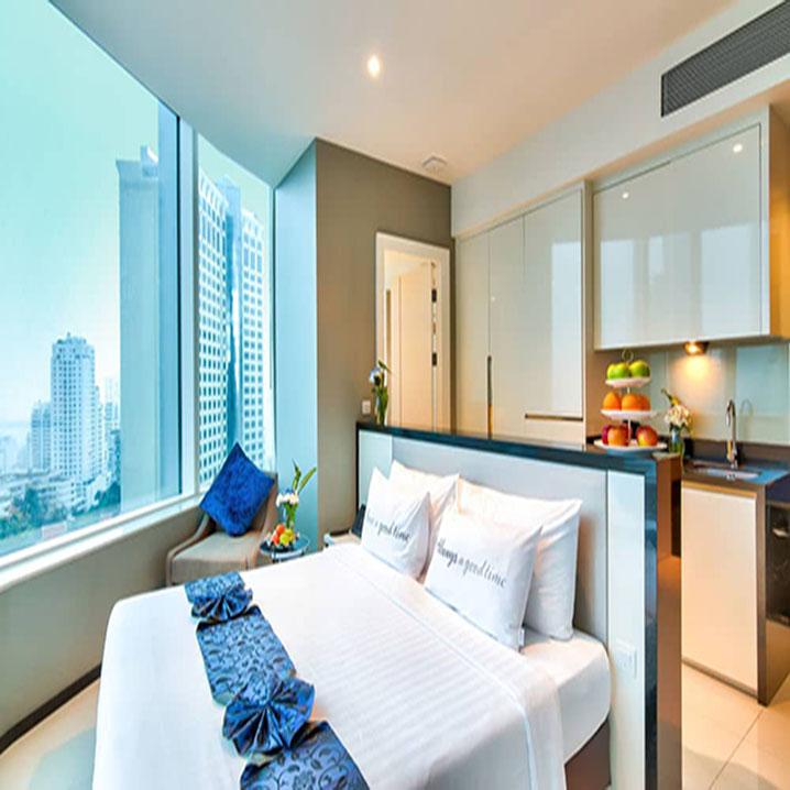 曼谷素坤逸航站21中心酒店入住指南