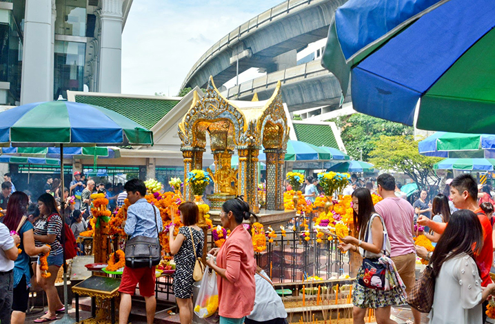 四面佛(Erawan Shrine)