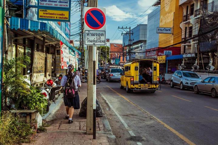 泰国警惕陌生人