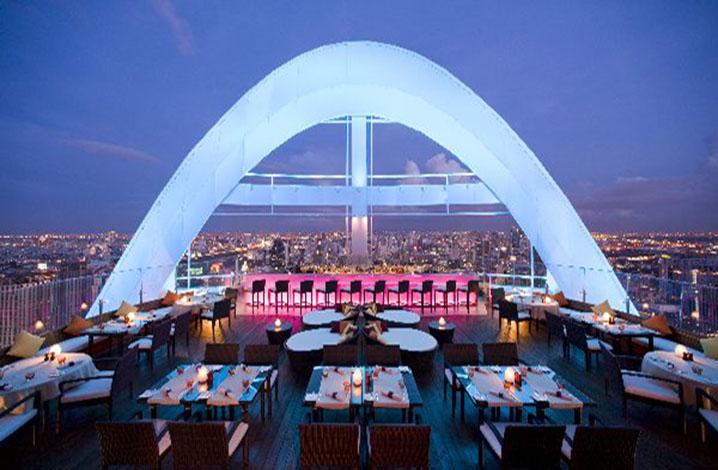 redskyar曼谷最美高空酒吧之一