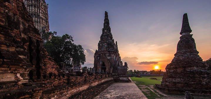 来大城府追溯泰国悠久的历史