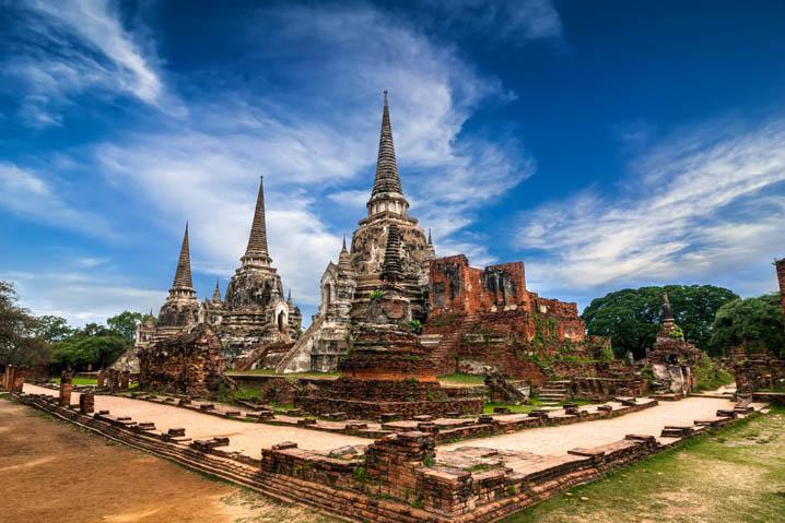 大城府的寺庙