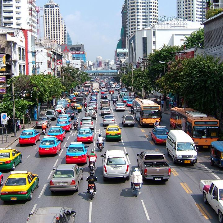 曼谷交通吐槽,在曼谷搭车的血泪史