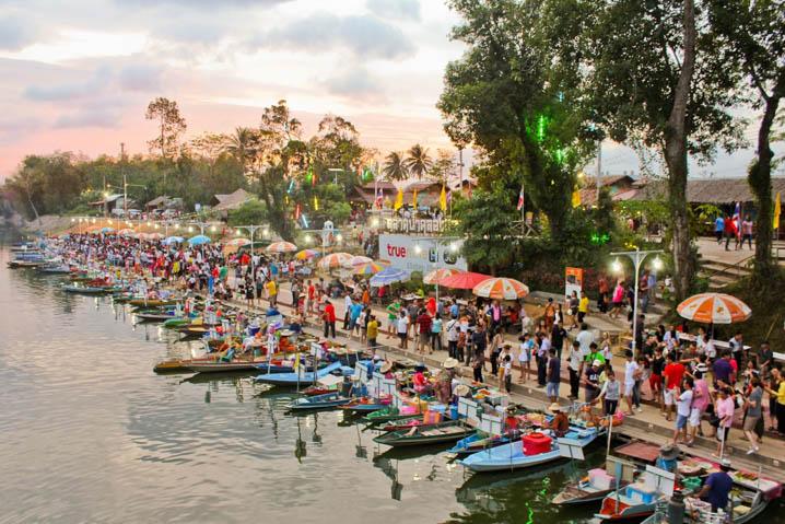 Klonghae Floating Market