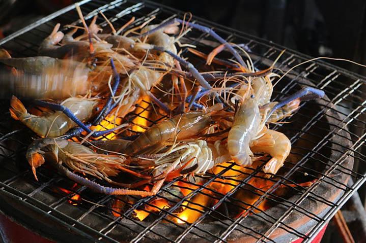 湄南河烤虾