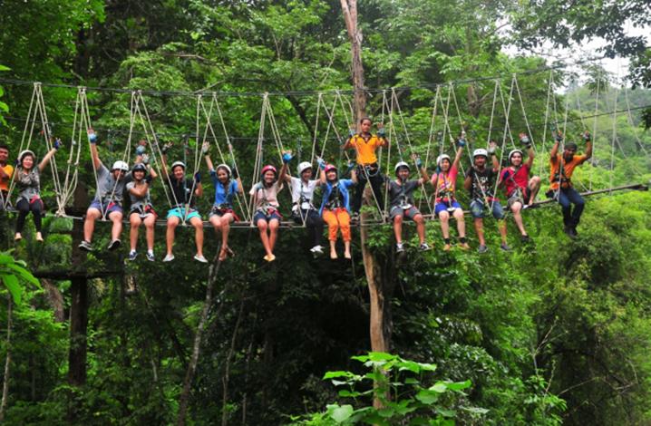 象岛TreeTop冒险公园