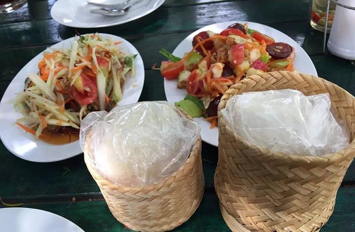 泰国传统木瓜沙拉