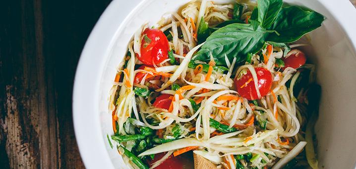 全泰国最好吃的青木瓜沙拉,泰霸道!