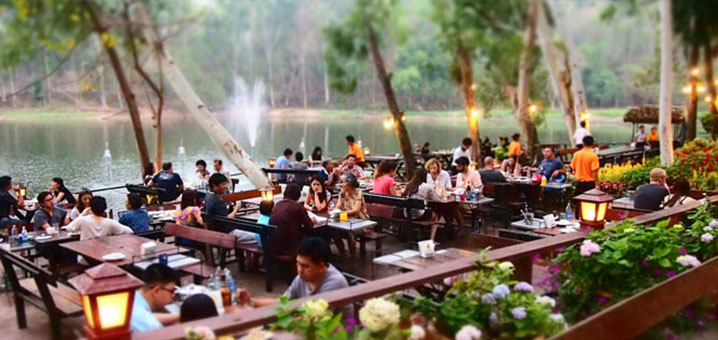 Kalae Restaurant花园餐厅,我喜爱的清迈餐厅