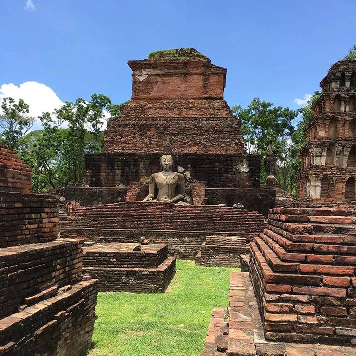 从曼谷自驾到素可泰,到了素可泰才觉得来过泰国