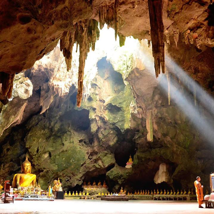 清迈山甘烹Mueang On Cave旅游攻略