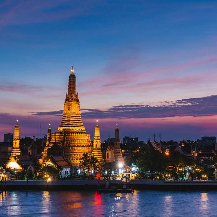 曼谷寺庙一日游