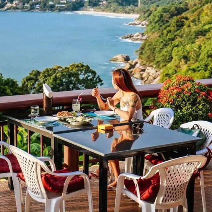 Sabai corner sea view bar,普吉岛人均不到100元的绝美海景餐餐厅