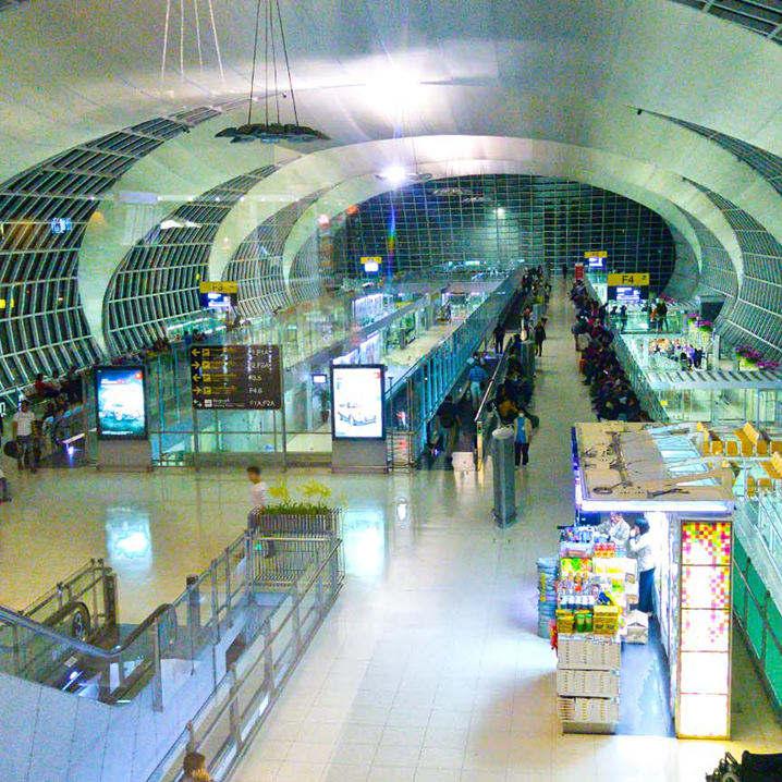 曼谷机场攻略