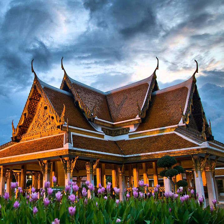 泰国寺庙建筑的艺术