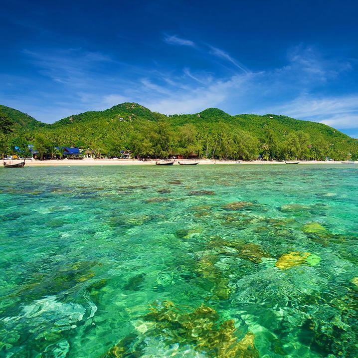 金秋时节一起畅游泰国海岛吧