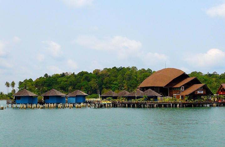 象岛的Bang Bao渔村