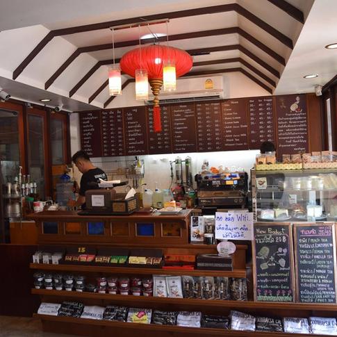 清迈Boonraksa Coffee By Wat Pansao咖啡店