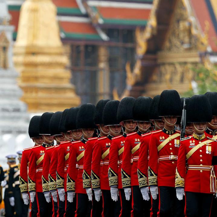 最后的告别,泰国拉玛九世火葬仪式