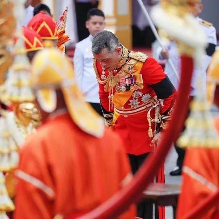 普密蓬国王火葬仪式上,那些感动我的瞬间