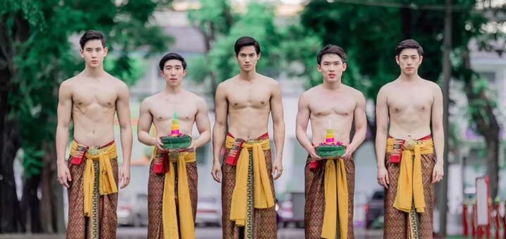 泰国水灯节的魅力,俗称