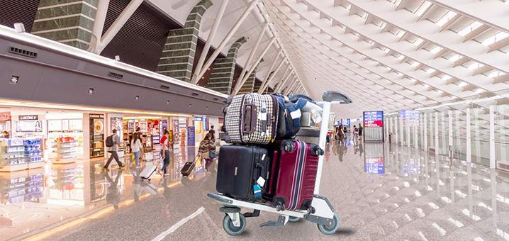 曼谷两大机场如何存行李?