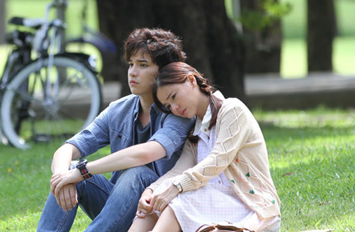 泰版《一吻定情》,看Mark和Aom李海娜甜出天际