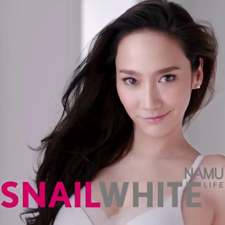 泰国NAMU LIFE Snail White系列蜗牛霜,是全世界最好用的蜗牛霜
