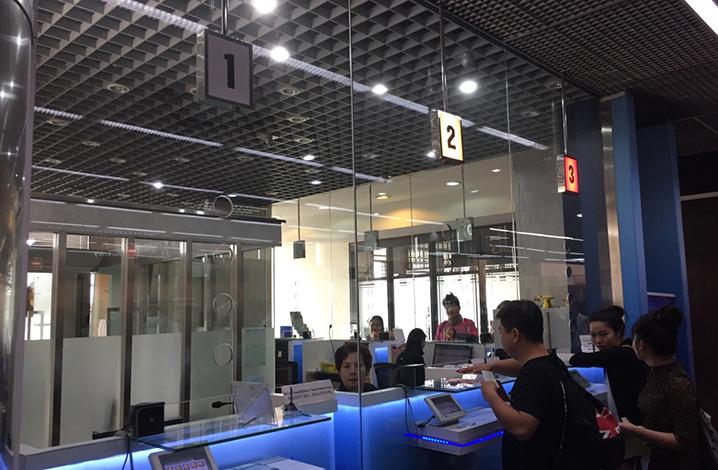 泰国王权免税店购物到退税