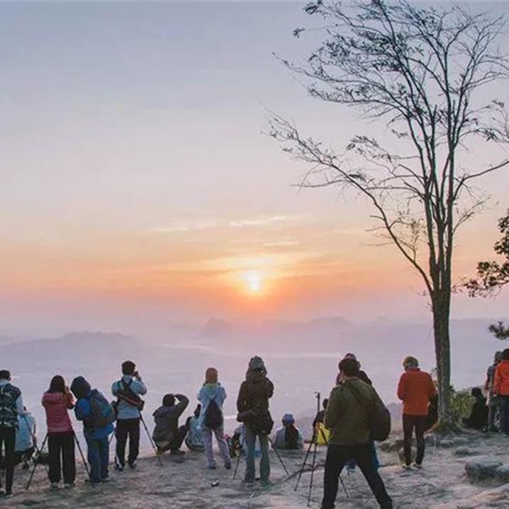 雷府Phu Kradeung国家公园|赏花赏枫叶,露营看云海