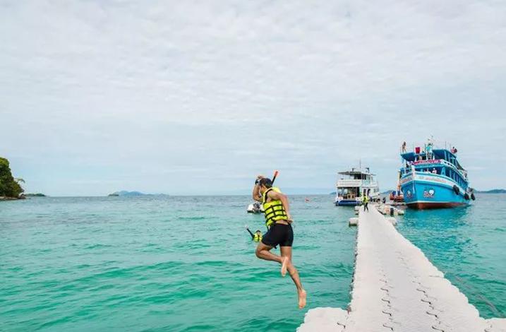 象岛旅游  游玩 Koh Wai及周边(小众浮潜之选)