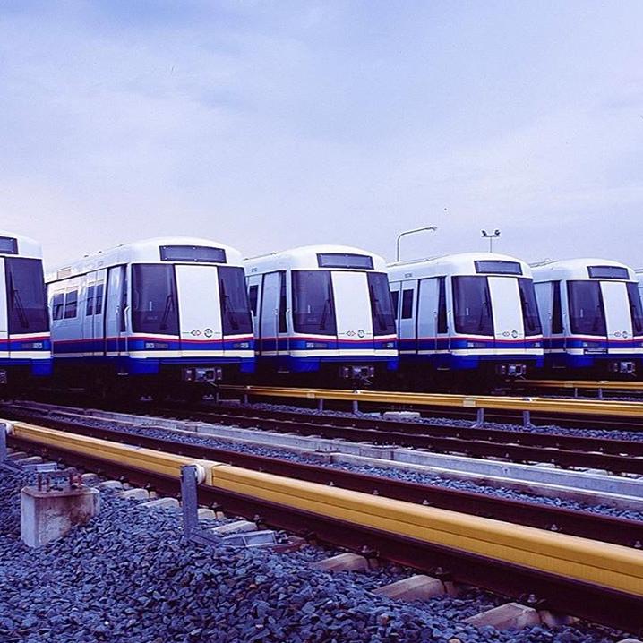 曼谷地铁MRT开通灰色线!