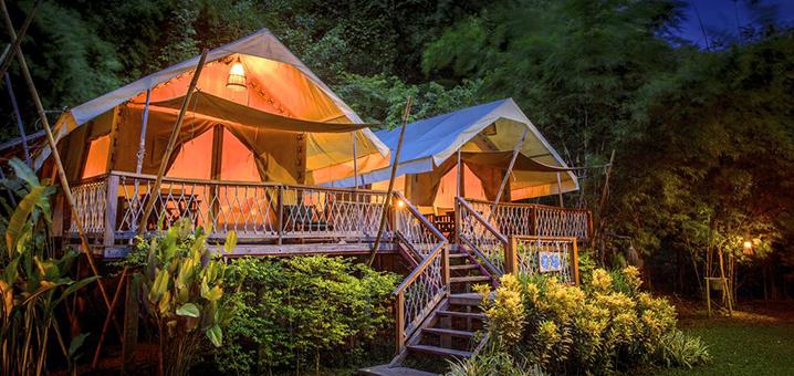 北碧府Hintok River Camp山林营地酒店,体验美国电影里的夏令营