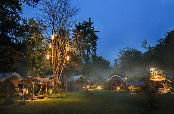 北碧府Hintok River Camp山林营地酒店
